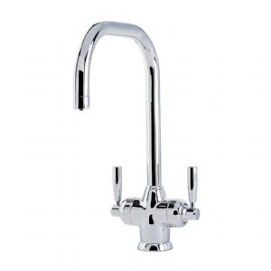 1445 Perrin & Rowe Mimas Sink Mixer Tap with Filtration and U Spout